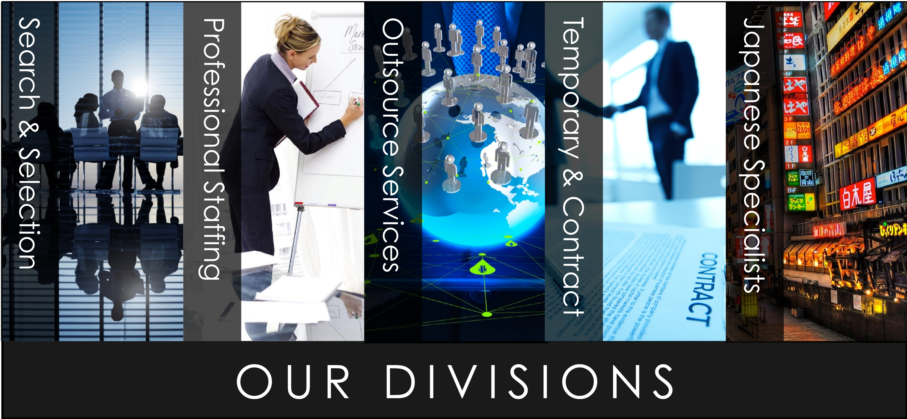 Our Divisions